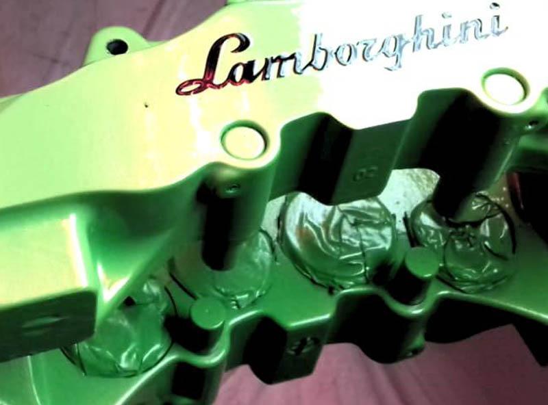 personnalisation Lamborghini
