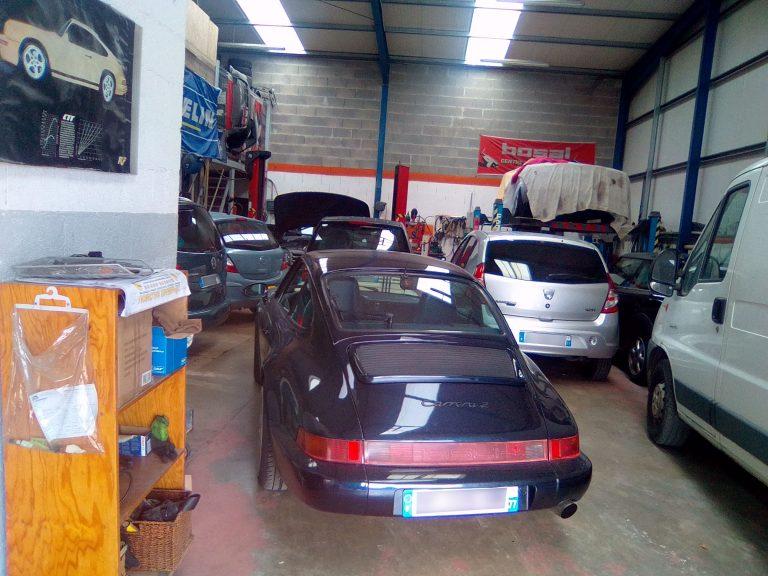 Espace garage AMS