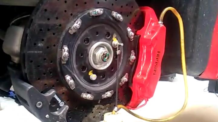 Frein Ferrari 430 scuderia